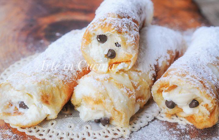Dita degli apostoli dolci siciliani dei morti veloci