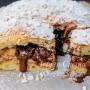 Focaccia dolce nutella e cioccolato ricetta facile vickyart arte in cucina