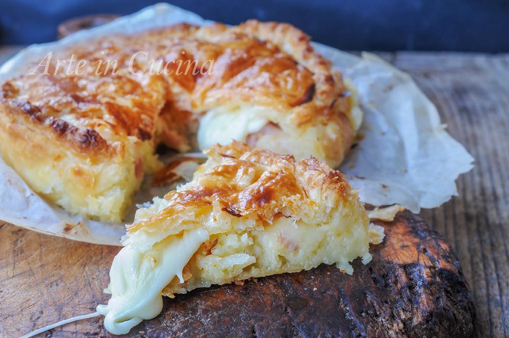 Gallette de rois salata torta ripiena facile e veloce vickyart arte in cucina
