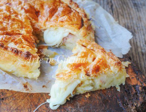 Gallette de rois salata torta ripiena facile e veloce