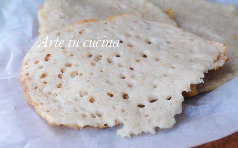 Pane injera ricetta africana Eritrea facile