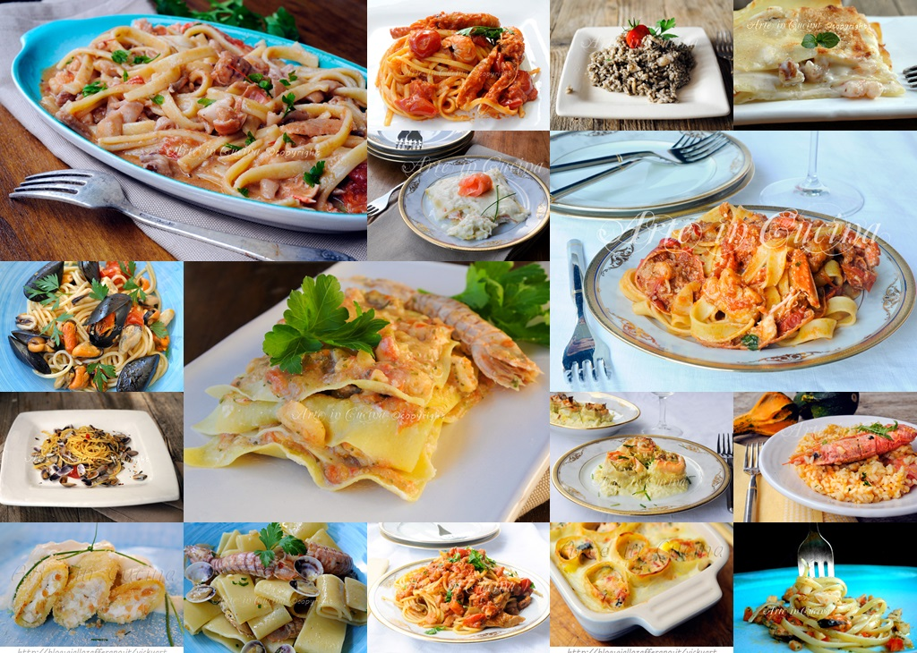 Primi piatti vigilia di natale ricette facili per menu di for Ricette primi piatti