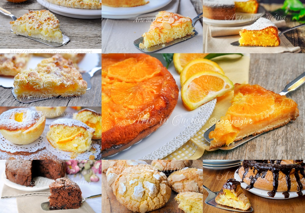 Dolci all'arancia ricette per colazione o merenda vickyart arte in cucina