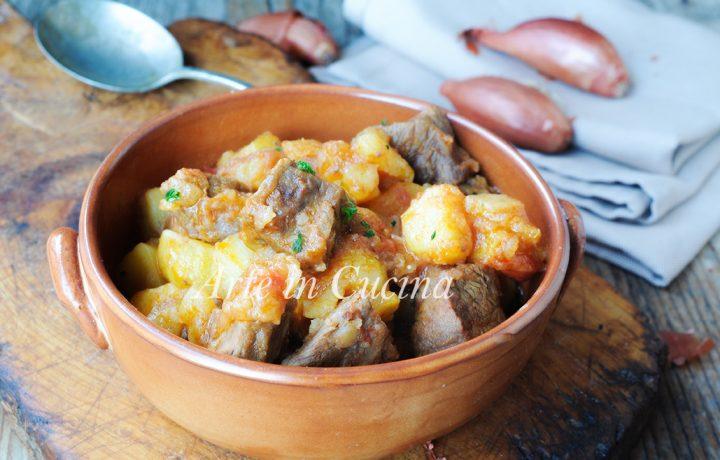 Spezzatino con patate ricetta secondo facile