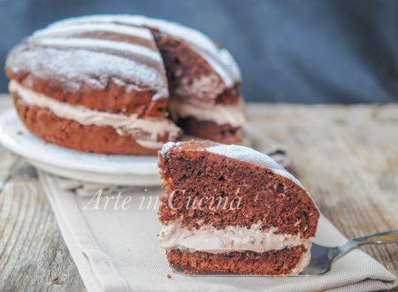 Torta pan di nuvola alla nutella ricetta golosa
