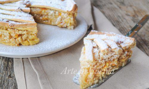 Torta Romeo e Giulietta con frutta secca