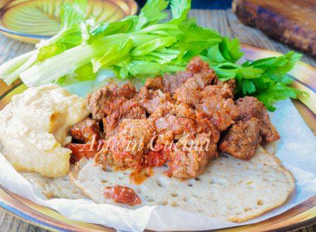Zighinì ricetta eritrea con carne speziata