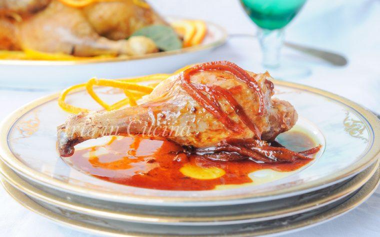 Anatra all'arancia ricetta francese facile e gustosa