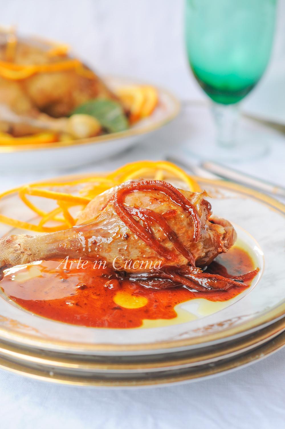 Anatra all'arancia ricetta francese facile e gustosa vickyart arte in cucina