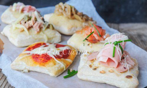 Bruschette di pizza ricette sfiziose finger food
