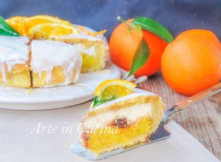 Cassata siciliana al forno all'arancia dolce facile