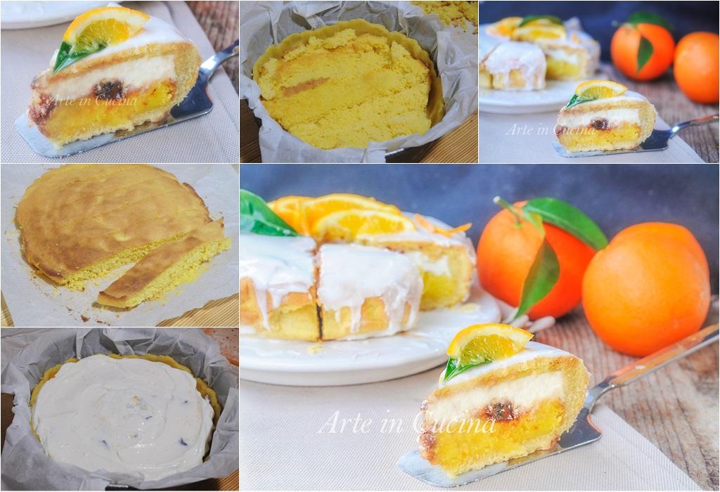Cassata siciliana al forno all'arancia dolce facile vickyart arte in cucina