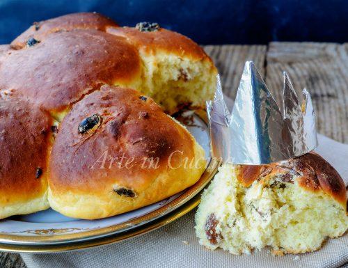 Dreikönigskuchen dolce della befana svizzero anche bimby