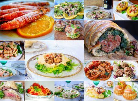 Ricette cenone di capodanno a base di carne e pesce