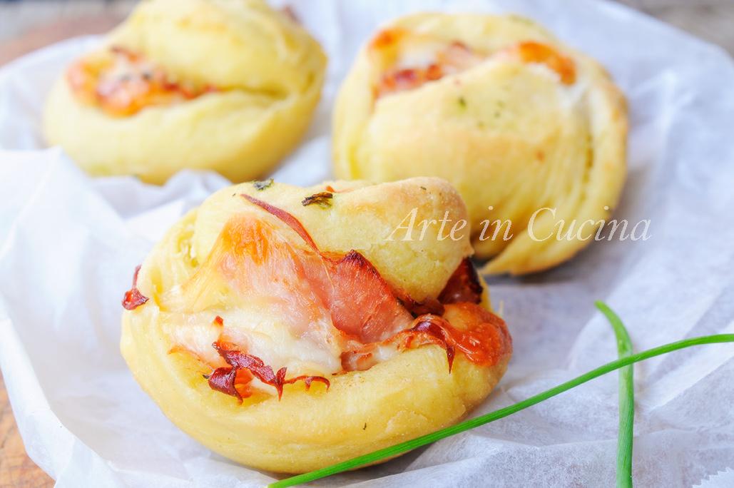 Muffin lievitati salati al prosciutto soffici e congelabili vickyart arte in cucina