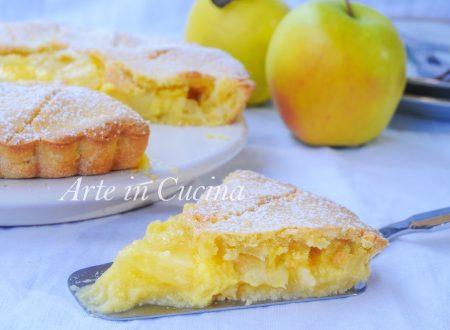 Pineapple apple pie torta ananas mele e crema