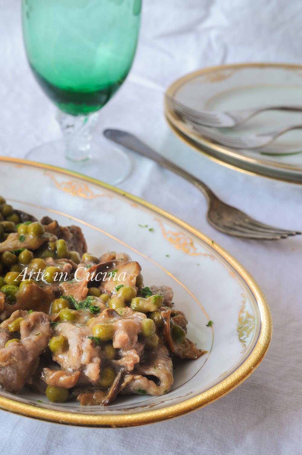 Straccetti di vitello alla finanziera ricetta napoletana vickyart arte in cucina