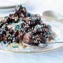 Struffoli al cioccolato al forno ricetta facile e veloce vickyart arte in cucina