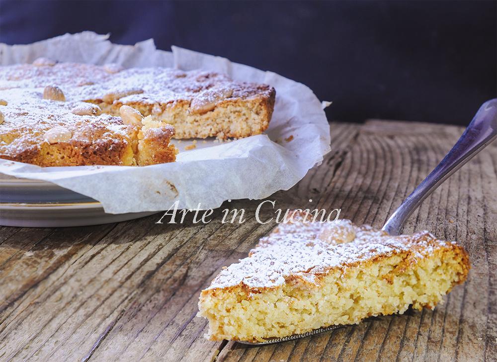 Torta mandorle e miele ricetta napoletana veloce vickyart arte in cucina