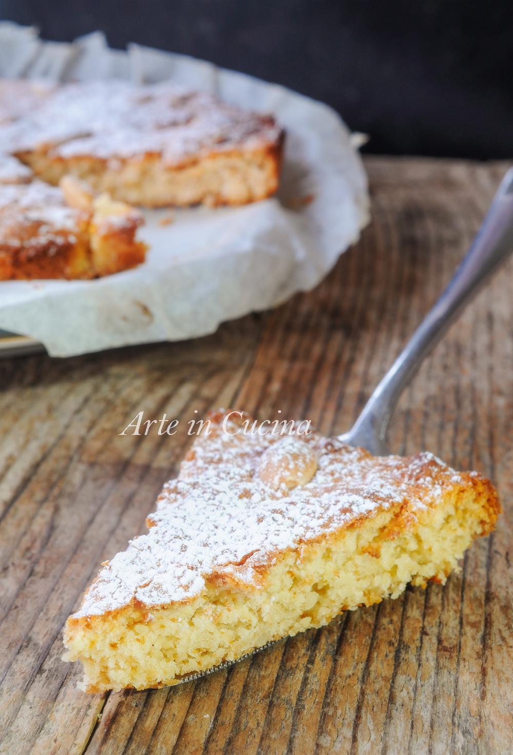 Torta mandorle e miele ricetta napoletana veloce - Ricette cucina napoletana ...