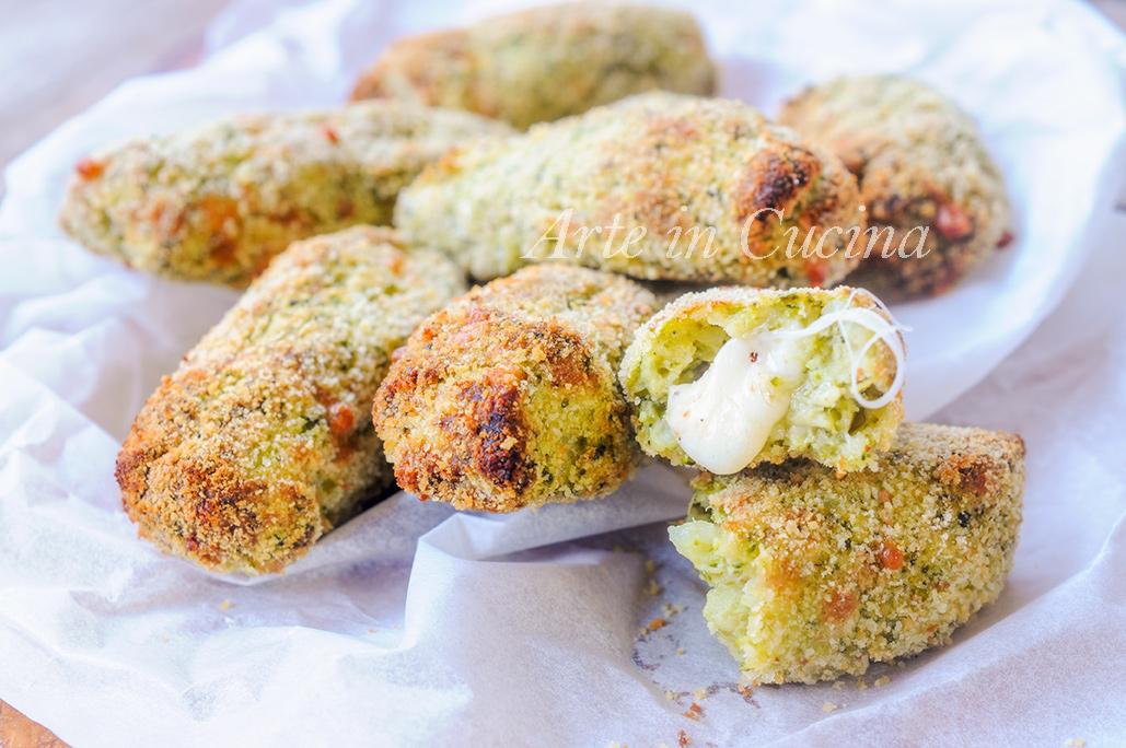 Bastoncini di broccoli e patate ricetta sfiziosa vickyart arte in cucina