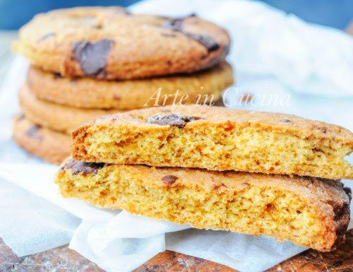 Biscottoni con zucchero di canna e olio al cioccolato