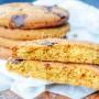 Biscottoni con zucchero di canna e olio al cioccolato vickyart arte in cucina