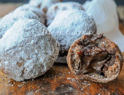 Castagnole nutella e cioccolato facili e veloci