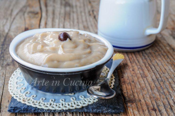 Crema pasticcera al caffè ricetta base vickyart arte in cucina