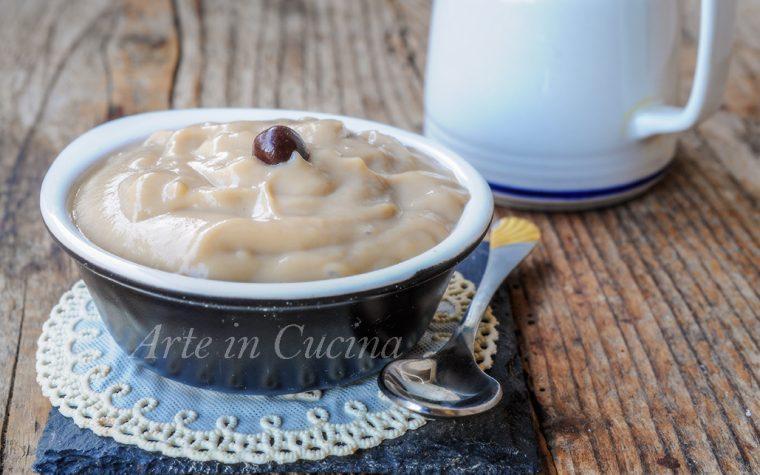 Crema pasticcera al caffè ricetta base
