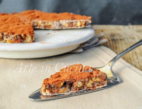 Panforte al cioccolato ricetta dolce veloce