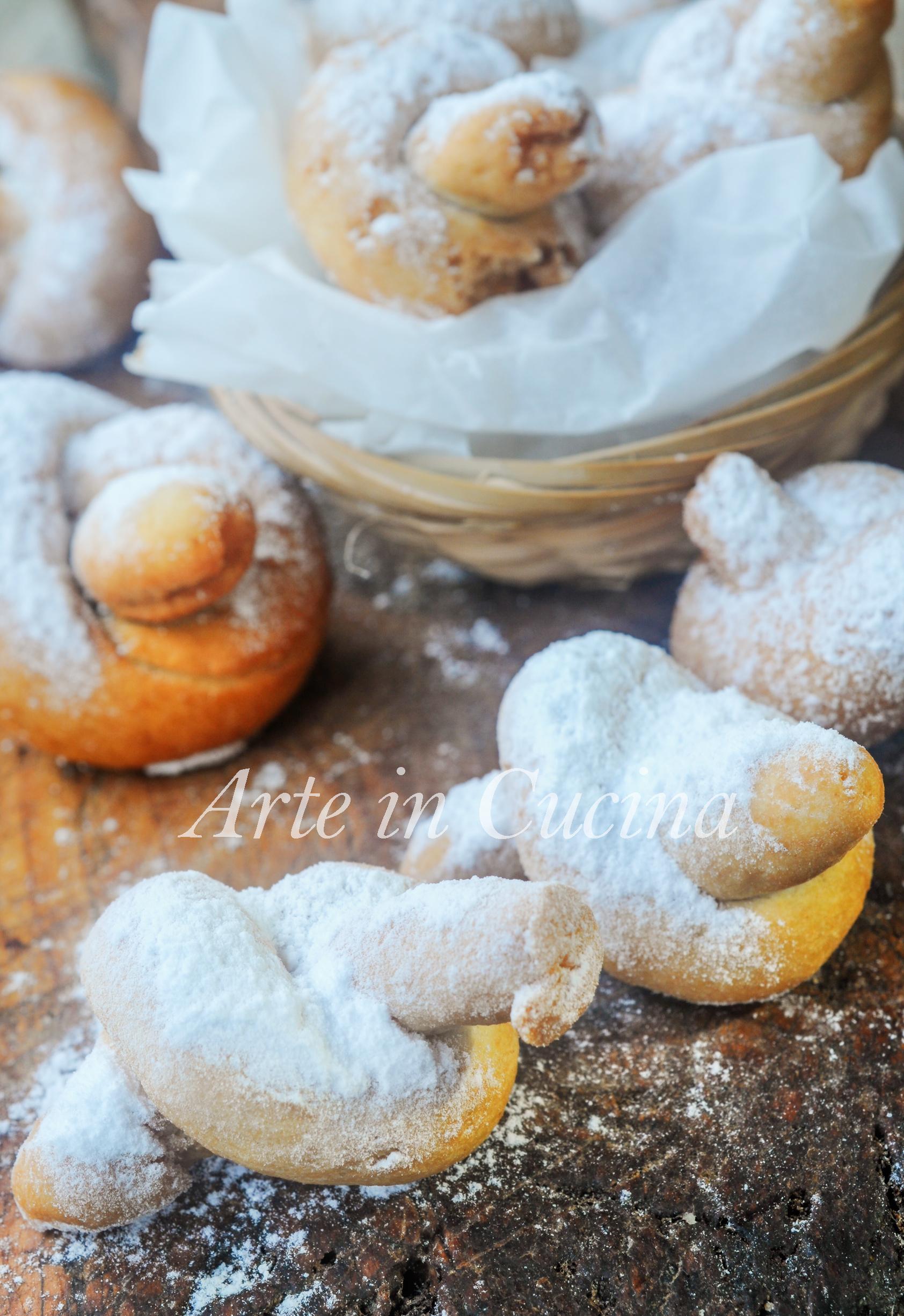 Biscotti annodati alle mandorle e limone ricetta facile vickyart arte in cucina