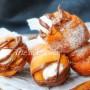 Cono graffa panna e nutella ricetta napoletana vickyart arte in cucina