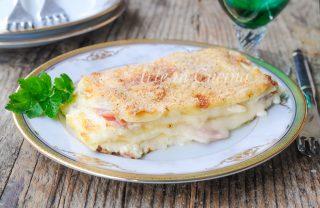 Lasagna in bianco con ricotta e besciamella vickyart arte in cucina
