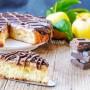Melamangio torta di mele crema e cioccolato vickyart arte in cucina
