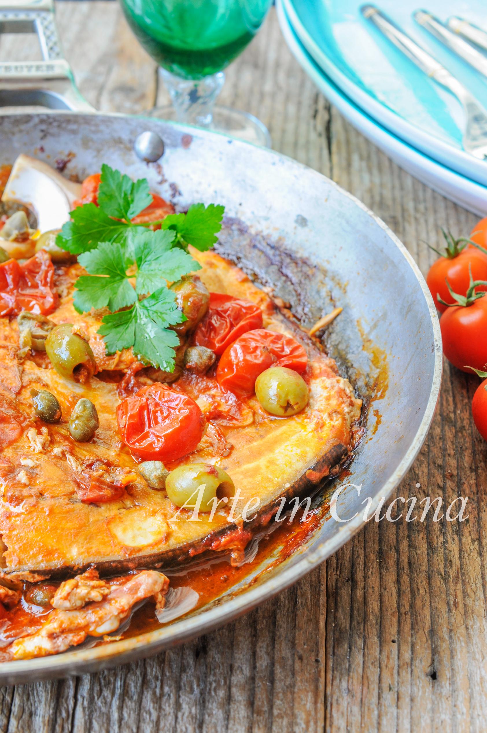 Pesce spada alla siciliana in padella ricetta veloce vickyart arte in cucina