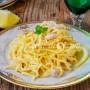 Tagliolini al limone ricetta napoletana veloce vickyart arte in cucina