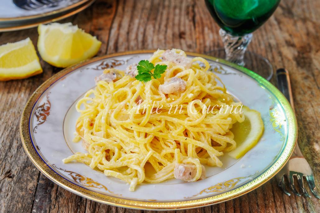 Tagliolini al limone ricetta napoletana veloce