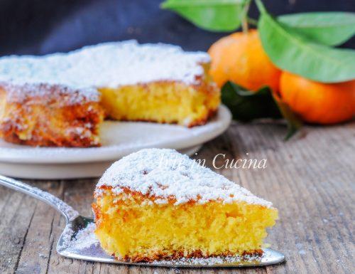 Torta al cucchiaio all'arancia ricetta veloce
