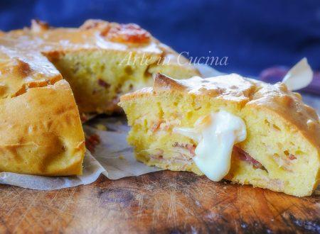 Torta salata al cucchiaio velocissima e facile
