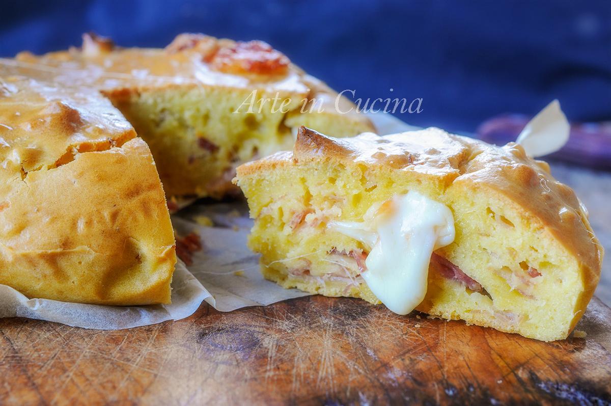 Torta salata al cucchiaio velocissima e facile vickyart arte in cucina