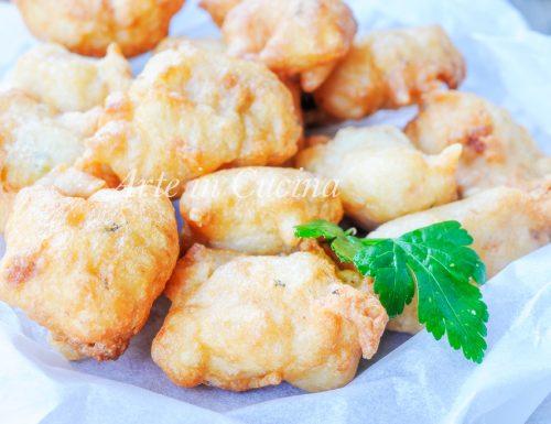 Zeppoline ricotta e tonno ricetta salata veloce