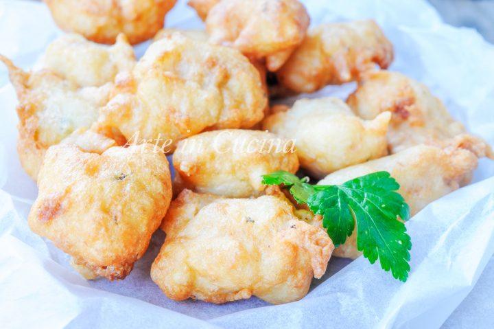 Zeppoline ricotta e tonno ricetta salata veloce vickyart arte in cucina