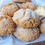 Biscotti alla panna zuccherati ricetta veloce vickyart arte in cucina