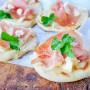 Bocconcini di piadina farciti ricetta sfiziosa veloce vickyart arte in cucina