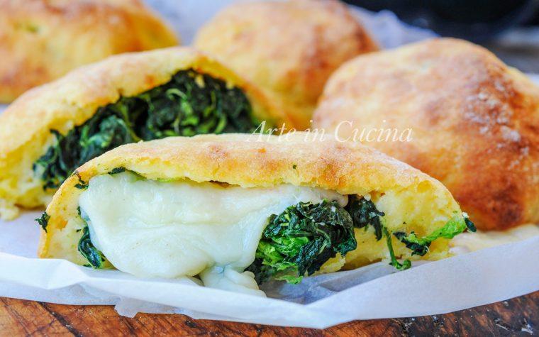 Brioche di patate con verdure e provola ricetta veloce