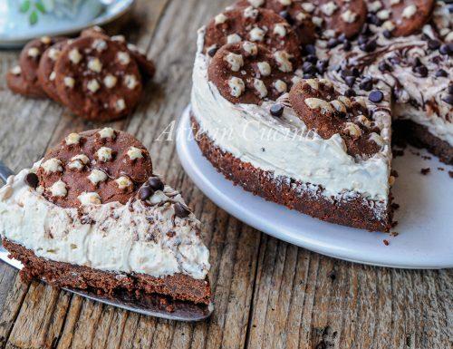 Cheesecake pan di stelle caffe e nutella cremosa