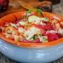 Panzanella toscana ricca facile e veloce vickyart arte in cucina