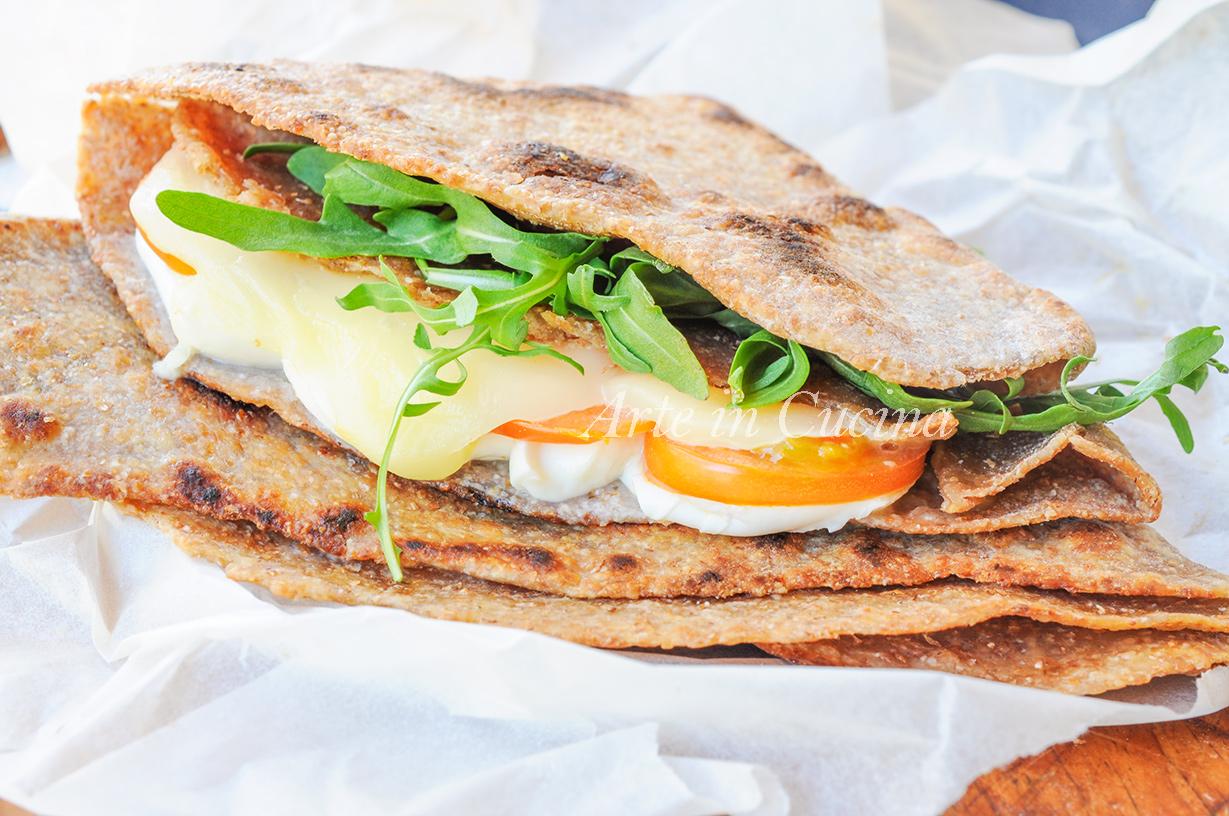 Paratha pane indiano integrale farcito veloce vickyart arte in cucina