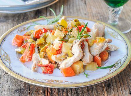Straccetti di pollo alla franceschiello ricetta veloce